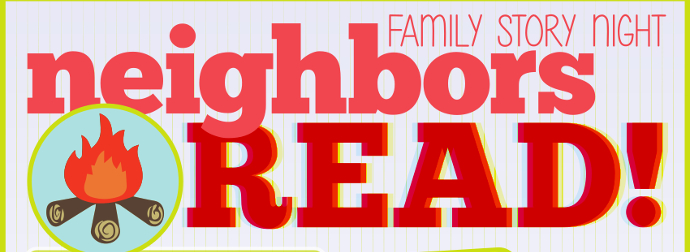 Neighbors Read August 2014 featured image