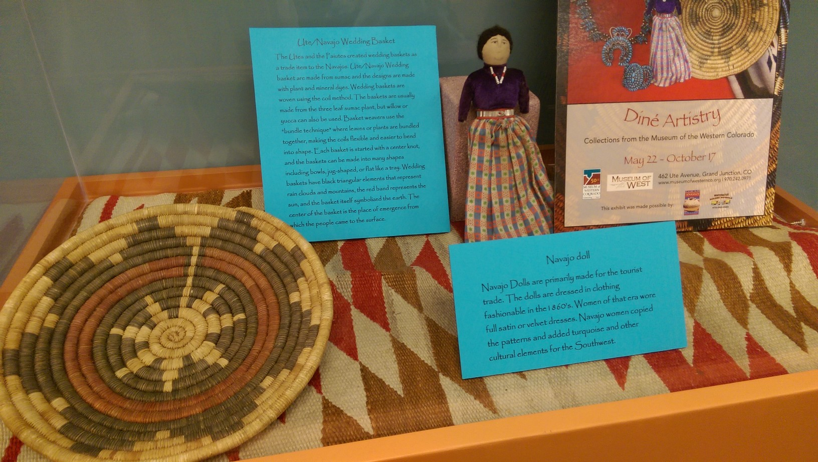 Museum exhibit at Central Library - May 2015
