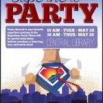 Superhero Party 2015