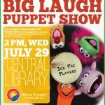 Big Laugh Puppet Show 2015