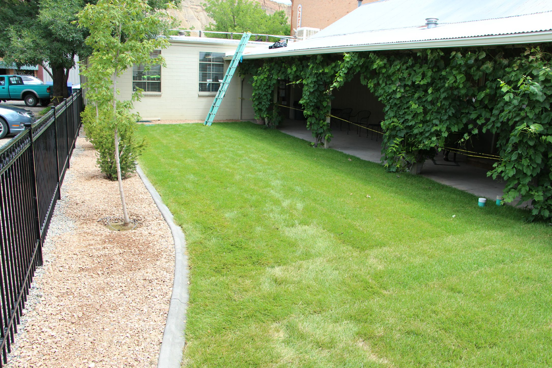 -Palisade Branch landscaping 7-24-15