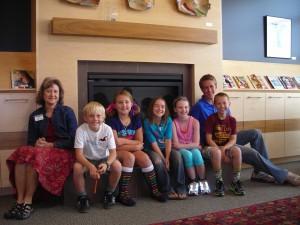 Elementary kids book club 2012