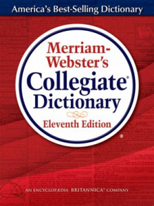 Merriam-Webster's Collegiate Dictionary – BANNED! – Mesa