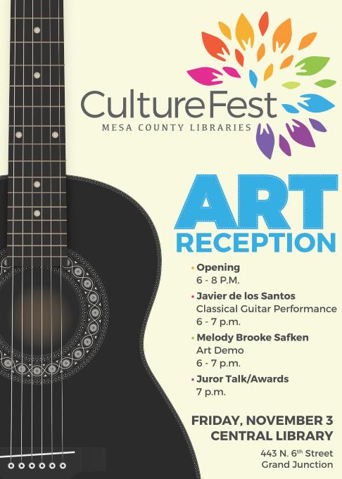culture fest art reception schedule