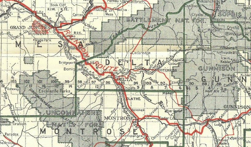 Before The Grand Mesa National Forest Existed Mesa County Libraries