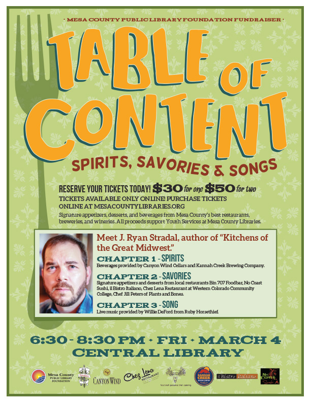 Table-of-Content-Flyer  sc 1 st  Mesa County Libraries & Table-of-Content-Flyer u2013 Mesa County Libraries