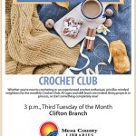 Clifton Crochet Club flier