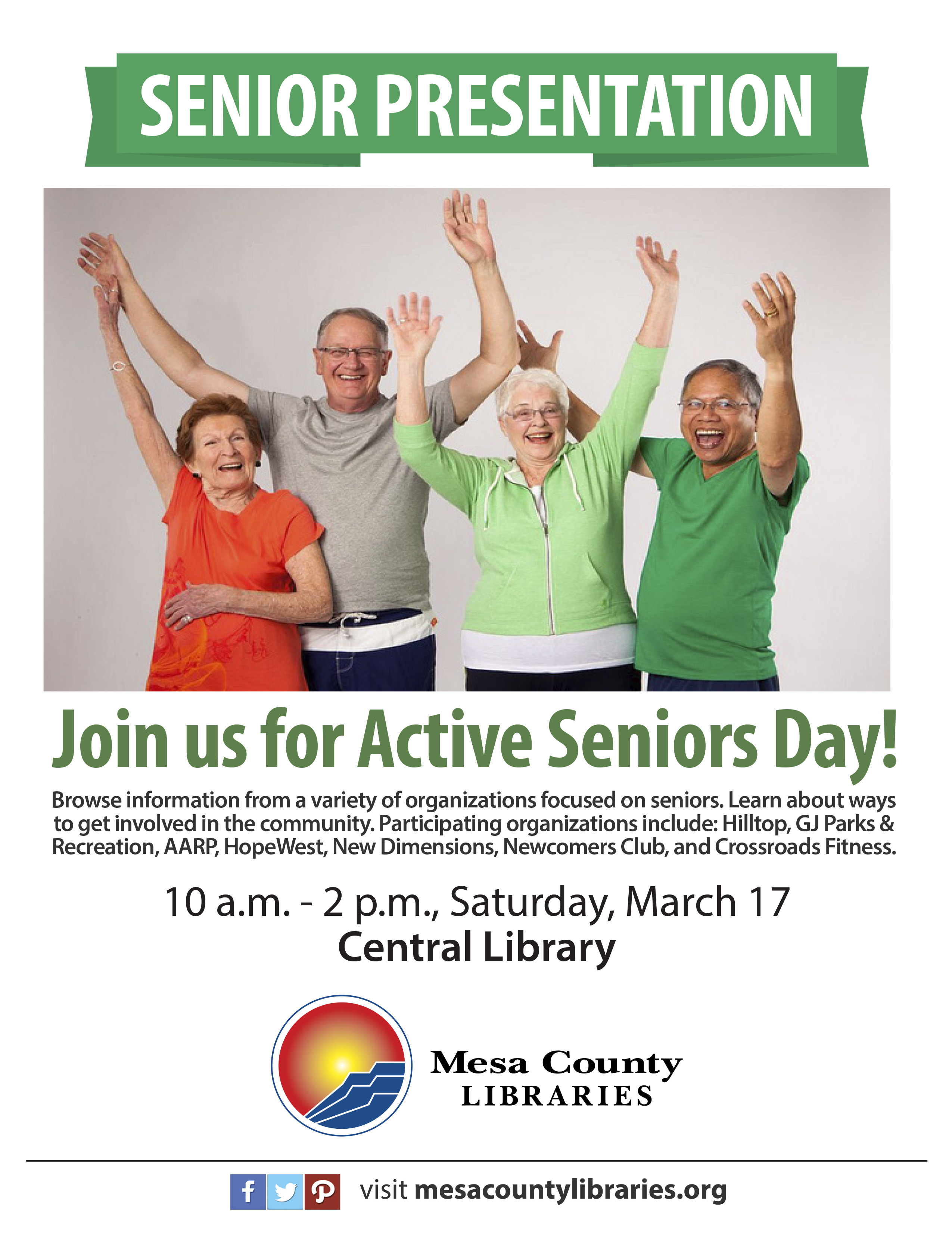 Active Seniors Day poster
