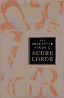 Audre Lorde book cover
