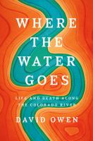 Where the Water Goes book cover