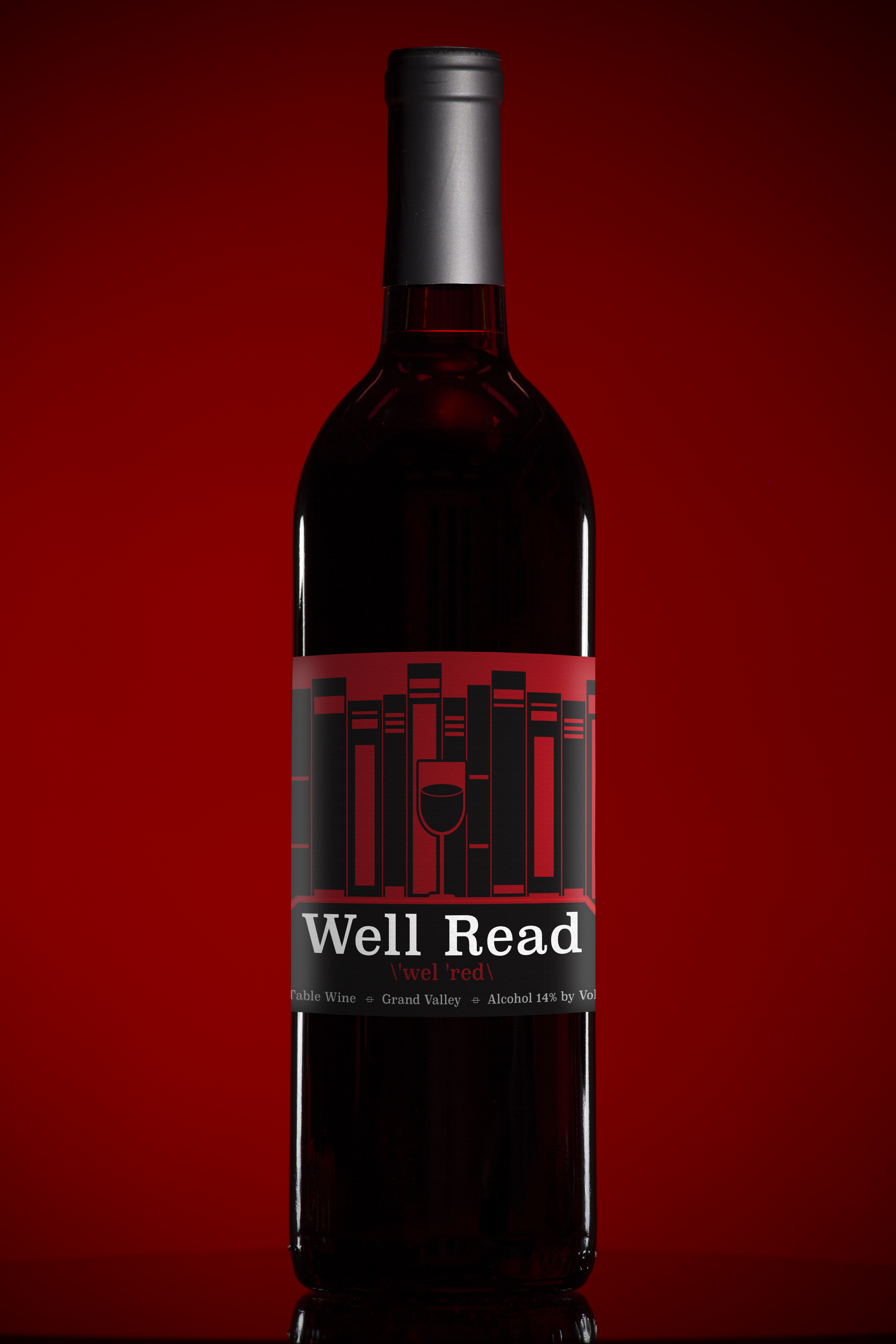 Well Read Library Wine