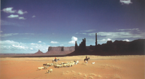 Monument Valley sheep herder
