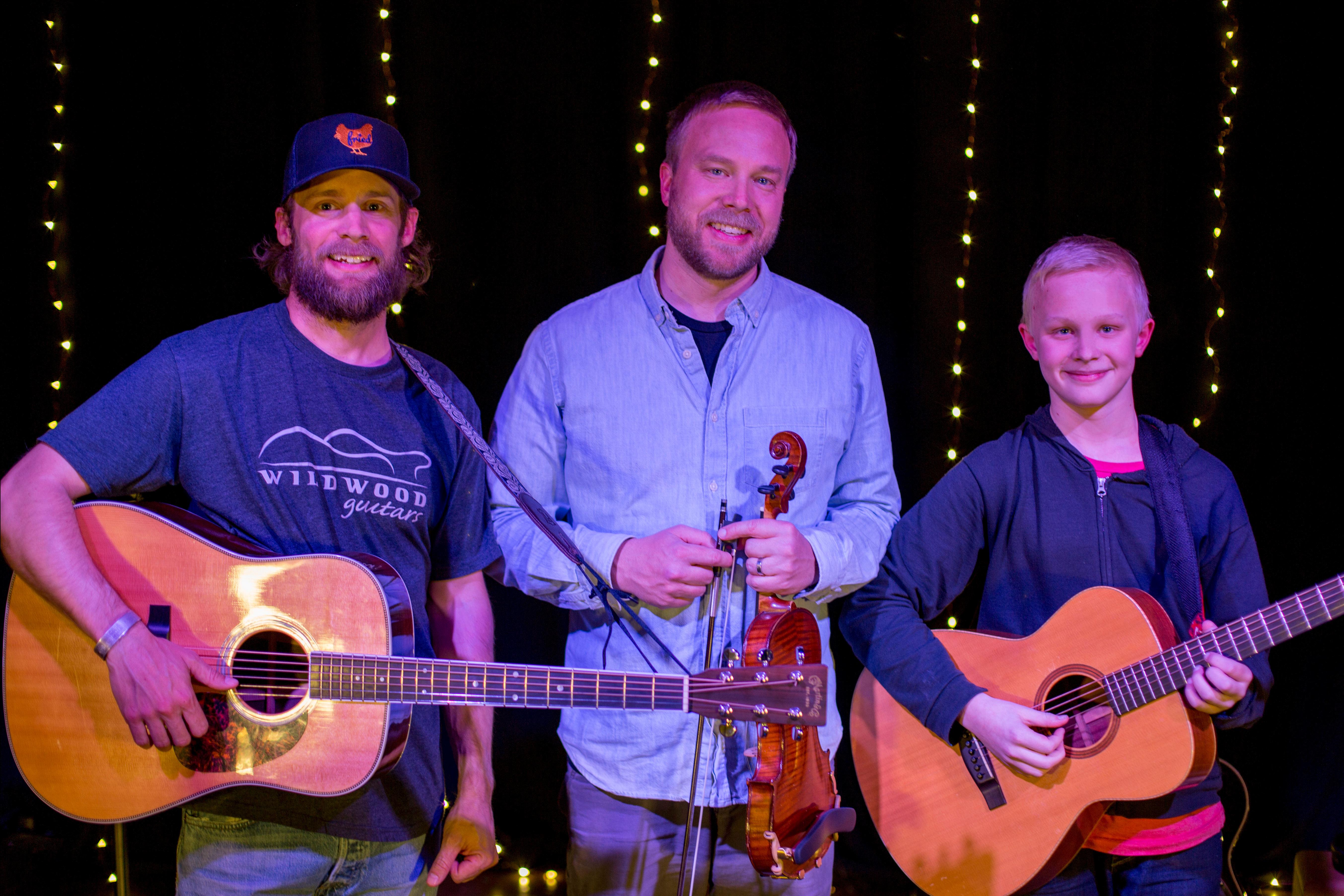 Shaun Ray, Willie DeFord, and Wyatt DeFord