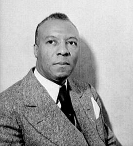 A photo of civil rights activist A. Phillip Randolph