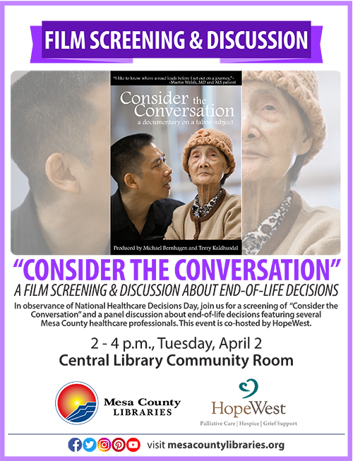 """Consider the Conversation"" poster"