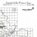 Journal of the Western Slope Summer 1986
