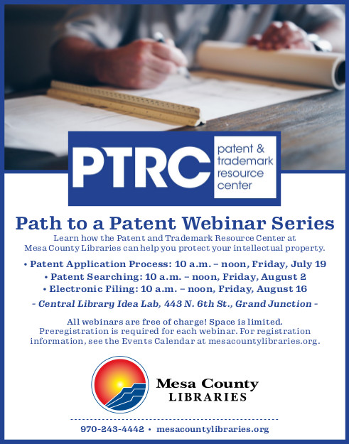 Poster graphic for patent classes