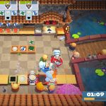 Kitchen scene from Overcooked 2 Video Game