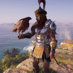 Photo of Alexios from Assassins Creed Odyssey