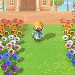 Animal Crossing Screen Shot Watering Flowers