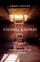 "Cover of ""Finders Keepers"""