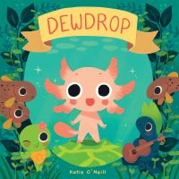 """Illustrated cover of the graphic novel """"Dewdrop"""""""