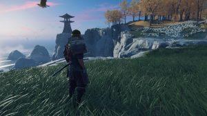 Screenshot of Ghost of Tsushima Video Game