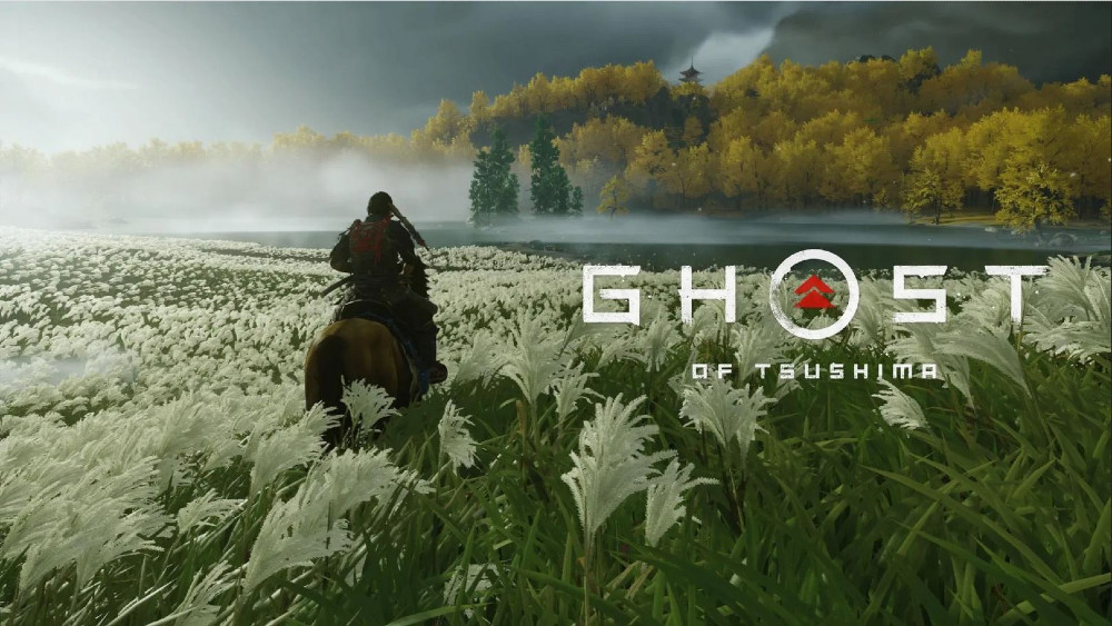 Screenshot from Ghost of Tsushima Video Game