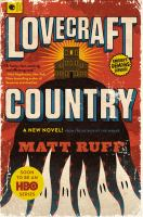 Book cover of lovecraft country