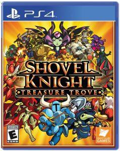 Shovel Knight PS4 Cover