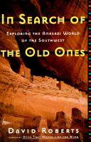 In search of the old ones book cover