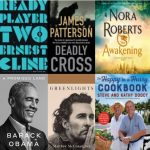 Publishers Weekly Top Three Bookcovers for Fiction and Nonfiction