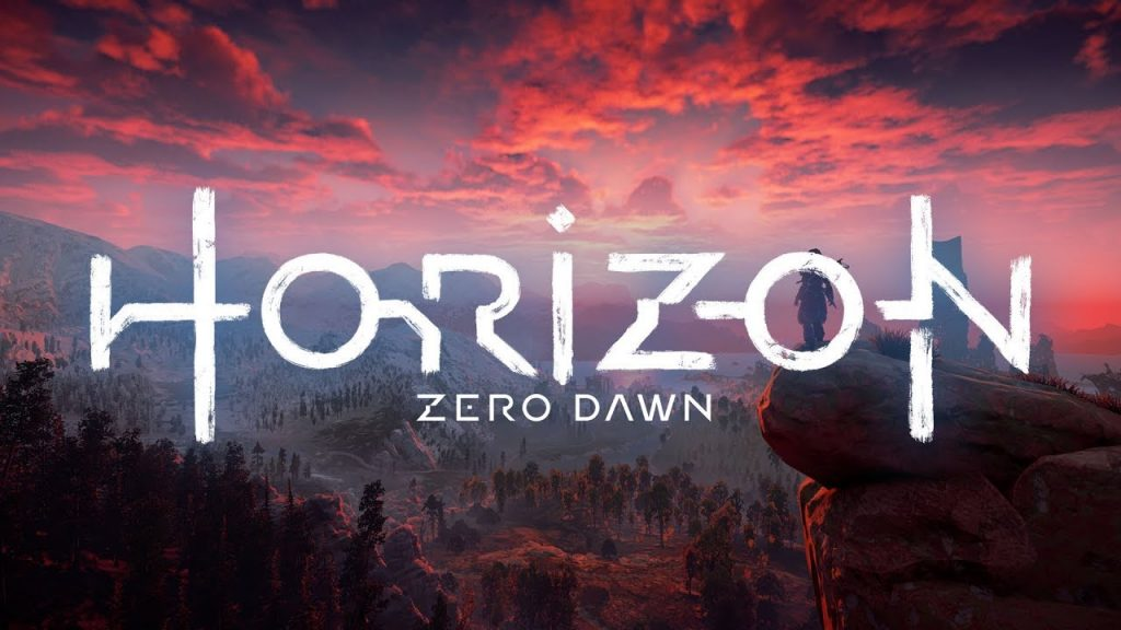 Horizon Zero Dawn intro screen