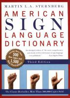 ASL Dictionary Cover