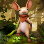Quill from Moss Video Game