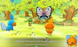 After Saving Caterpie