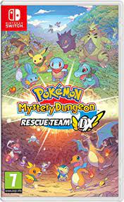 Pokemon Mystery Dungeon Cover