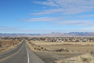 Loma, Colorado, where Mary Plaisted happily ranched with her family and abundance of chickens.