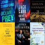 Top Six Fiction and Nonfiction bookcovers